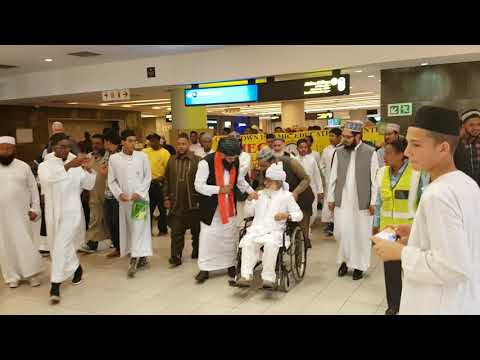Welcome of Qibla Pir Sayed Haseen ud Deen Shah by CTIEC in Cape Town South Africa Nov 2017