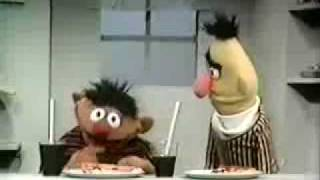 Ernie & Bert - Pizza and Grape Juice