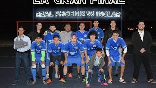 Final Blue Soccer - Real Phoenix Vs Inclar 12Marzo16