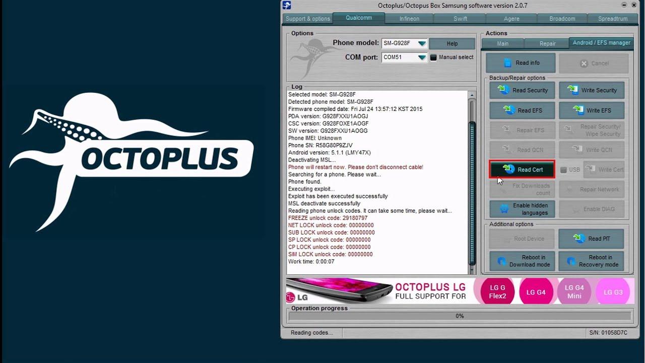 جدیدترین اخبار و آپدیت های باکس OctopusBox - octoplus box - جی اس ام