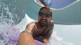 A Cool Day At Disney's Blizzard Beach Water Park | Slide POVs, Food Options & More