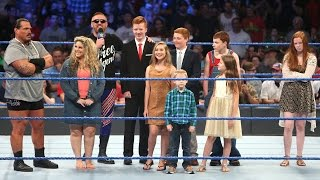 heath slater introduces the wwe universe to the slaters smackdown live sept 6 2016