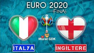 İTALYA - İNGİLTERE ( Euro 2020 Final ) /  FIFA 21 - PES 2021
