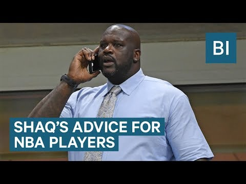 Shaq Gives Simple Financial Advice To NBA Players