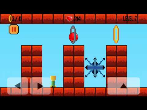 Bounce Ball Android Gameplay 1 to 11 level complete in 20 Minutes