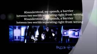 Razed In Black Misunderstood Lyrics