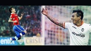 Eduardo Vargas - Chile & Valencia CF highlights [HD 720P]