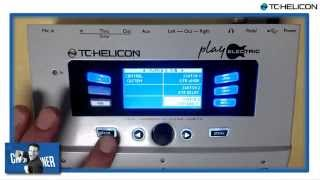 Play Electric - Switch3 for Guitar Effects - TC-Helicon