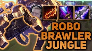 RETURN OF THE ROBO BRAWLER GOD! FULL ON-HIT BLITZCRANK JUNGLE SEASON 7 - League of Legends