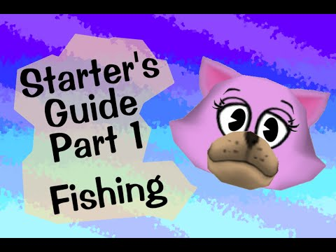 Starters guide to toontown fishing starters guide part 1 for Toontown fishing guide