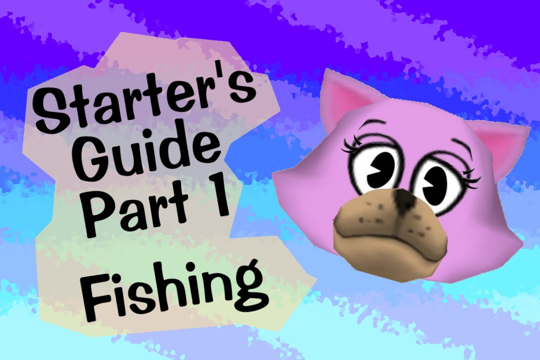 Starter 39 s guide to toontown fishing youtube for Toontown fishing guide