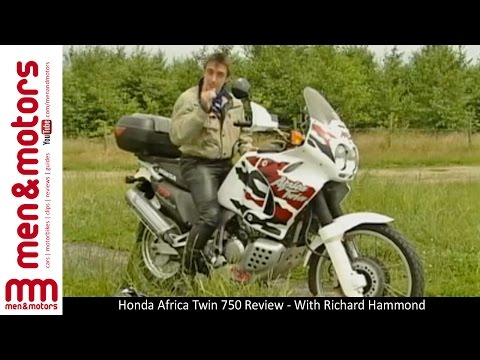 Honda Africa Twin 750 Review - With Richard Hammond