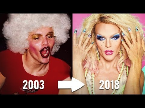 THEN AND NOW | CAST OF RUPAUL'S DRAG RACE | FIRST TIME IN DRAG