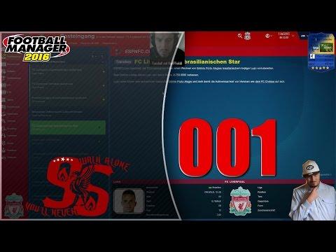 FM16 #001 - Liverpool FC - Management [FHD 60FPS]