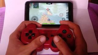 Wot blitz  с геймпадом от PS3