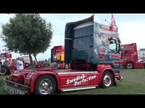 Scania v8 super uit Austria loud sound.