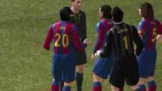 PES 2008 Full Version diving cheat
