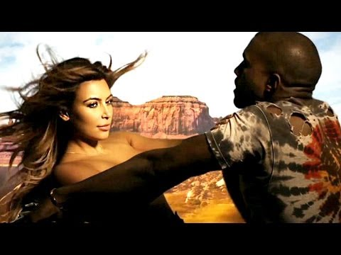 Kim Kardashian & Kanye West - Bound 2 Music Video