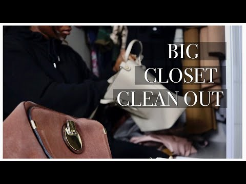 2021 EXTREME CLOSET CLEAN OUT | (the best way to start the year)