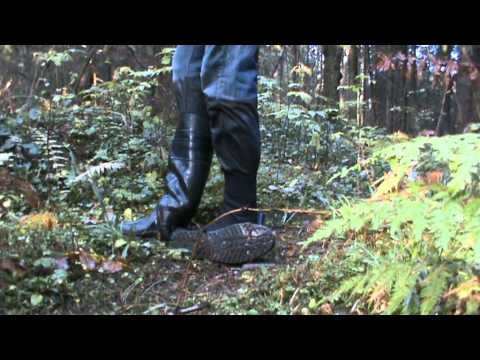 Rubber boots in water and mud M2U01071.MPG