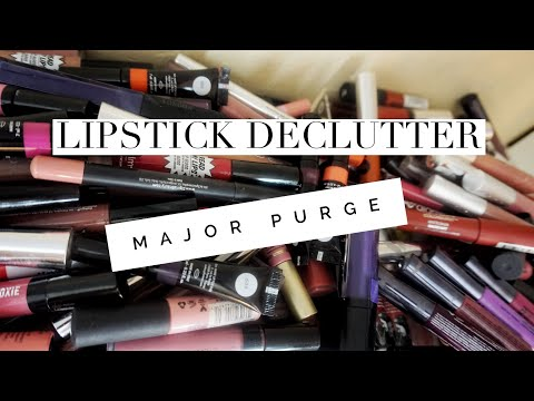 Project DECLUTTER MY MAKEUP Vol. 5 - LIP PRODUCTS