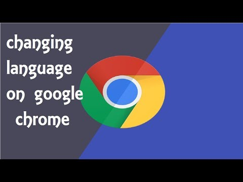 How To Change Language In Google CHROME (WINDOWS 8. 8.1, 10)