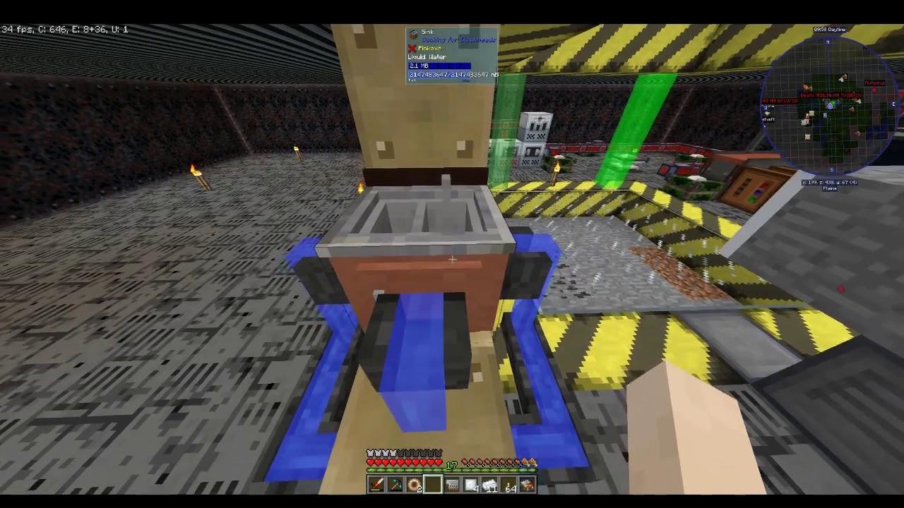 Industrial Blast Furnace! Und gleich wieder kaputt