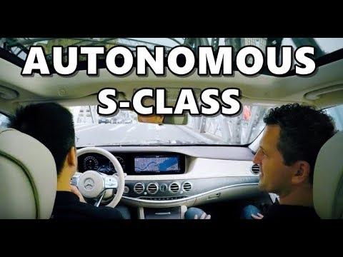 2018 Mercedes S-Class Autonomous Driving in Shanghai
