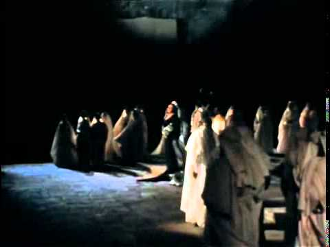 Montserrat Caballe Casta diva Norma Orange 1974