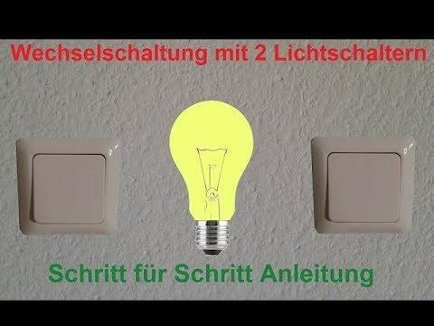 wechselschalter mehrere schalter f r eine lampe zus doovi. Black Bedroom Furniture Sets. Home Design Ideas