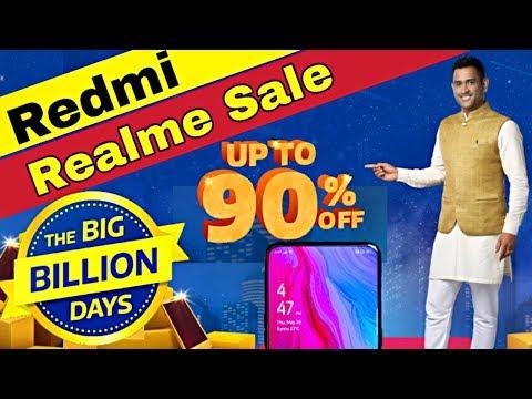 Flipkart Big Billion Day 2019 Sale ⚡ Redmi Note 7s, 7 Pro, Realme 5, 5 Pro, XT 3i, C2, 2 Pro, 3 Pro