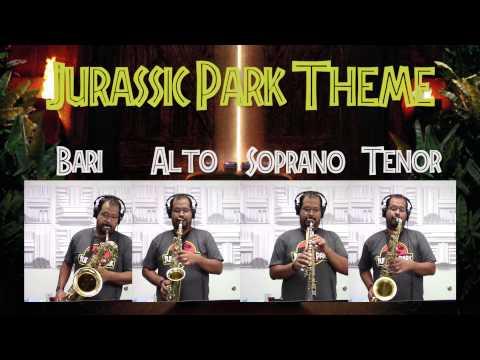Jurassic Park - Main Theme - Saxophone Quartet - MusicByPedro