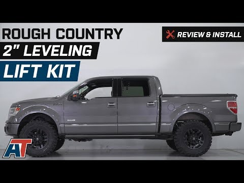 "2009-2013 F150 Rough Country 2"" Leveling Lift Kit w/ Shocks Review & Install"