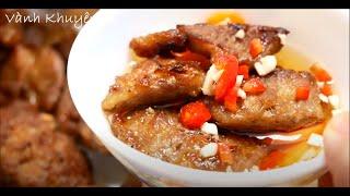 BÚN CHẢ HÀ NỘI - Cách ướp thịt ngon đúng vị cho món Bún Chả by Vanh Khuyen
