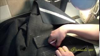 Как научится шить. Женское пальто. Карманы с клапаном.(Видео-ролик об особенностях обработки кармана с клапаном в верхней одежде. Получить уроки о том, как сшить..., 2014-05-02T17:20:26.000Z)