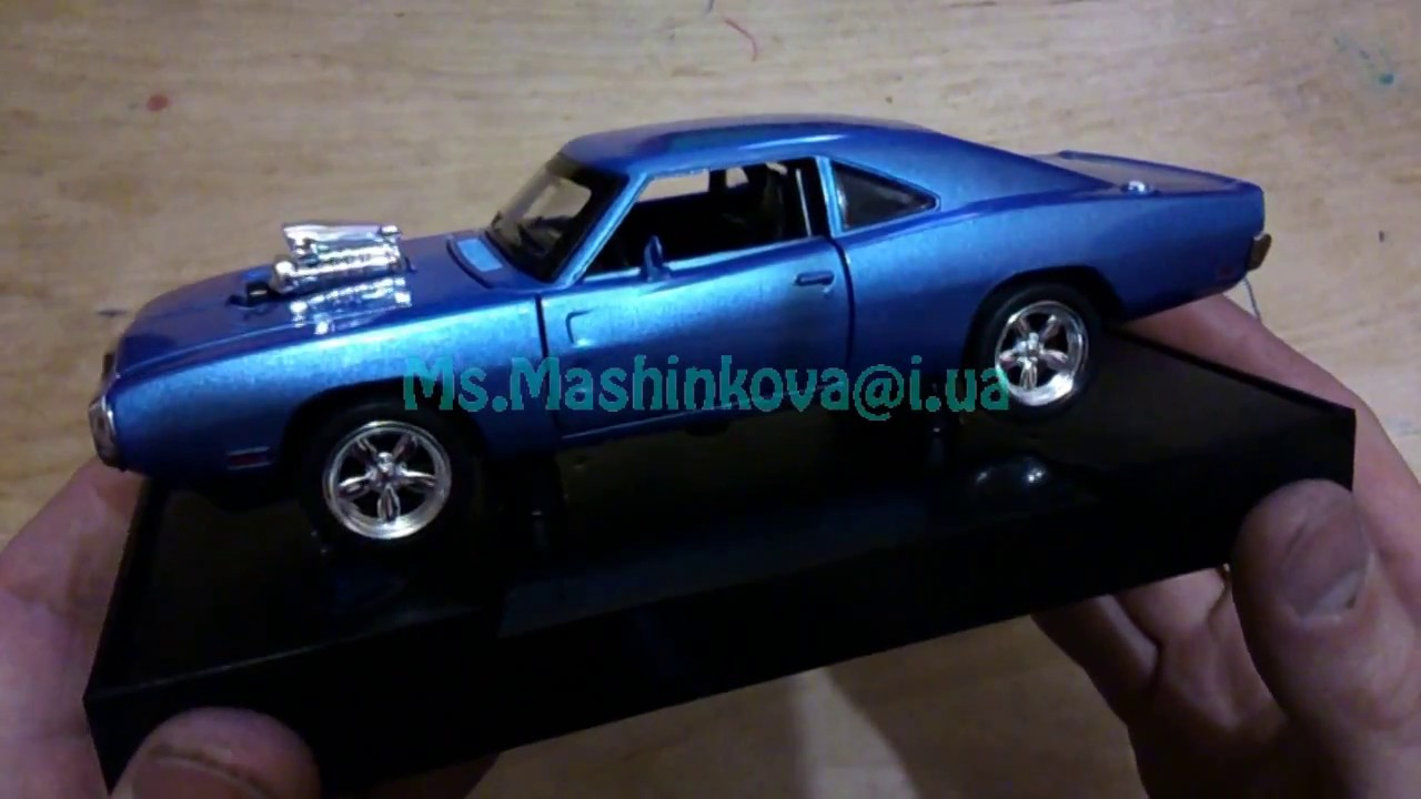 Dodge Charger Daytona Hemi 1969 by 3D model store Humster3D.com .