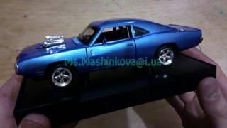 Машинка модель Dodge Charger RT 1:32 металл