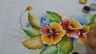 Roberto Ferreira – Pintura em Tecido Amor Perfeito