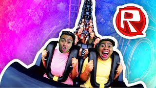 RIDING ROLLERCOASTERS! | Roblox