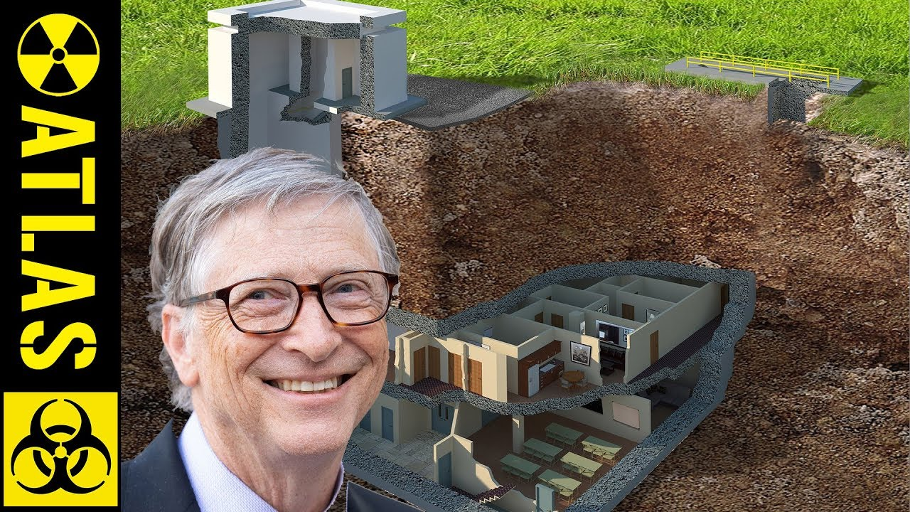 Why Is Bill Gates Building So Many Doomsday Bunkers Youtube