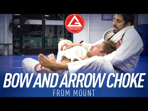 Bow and Arrow Choke From Mount