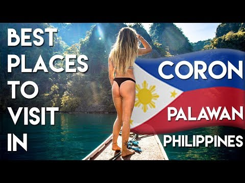 BEST Places to visit in CORON PALAWAN – Philippines Travel Vlog Ep 3
