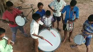 Nandhimanagar tharaithapattai kuzhu Band set training.. 🥁🥁🥁