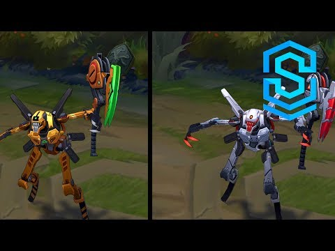 Praetorian Fiddlesticks Chroma Skins