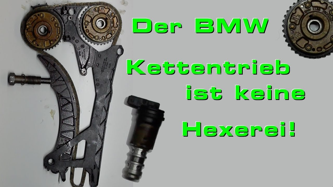 die steuerkette und kettenspanner vom bmw n46 motor youtube. Black Bedroom Furniture Sets. Home Design Ideas