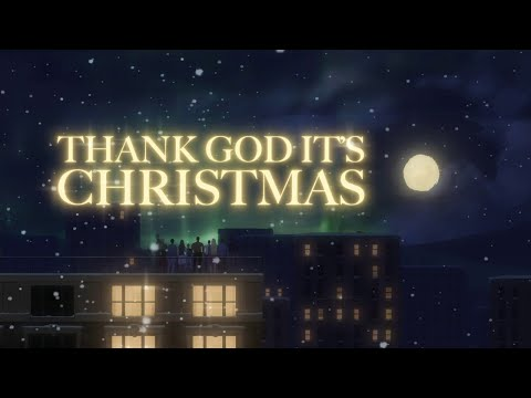 Queen - Thank God It's Christmas (Official Lyric Video)