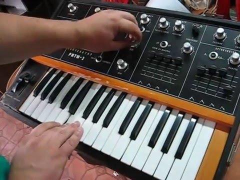 RITM-2 // Soviet vintage MOOG-like synth