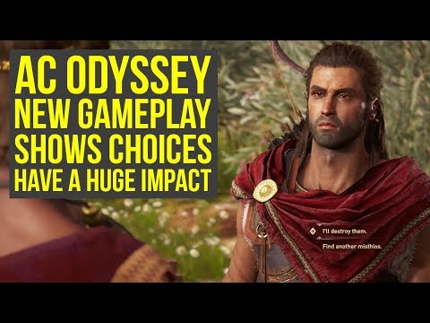 Assassin's Creed Odyssey Gameplay CHOICES HAVE A HUGE IMPACT On The Story (AC Odyssey Gameplay) thumbnail