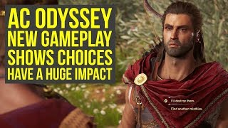 Assassin's Creed Odyssey Gameplay CHOICES HAVE A HUGE IMPACT On The Story (AC Odyssey Gameplay)