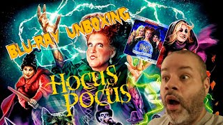 HOCUS POCUS 25TH ANNIVERSARY EDITION BLU-RAY UNBOXING.